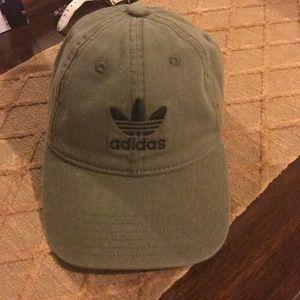 Olive Green Adidas cap